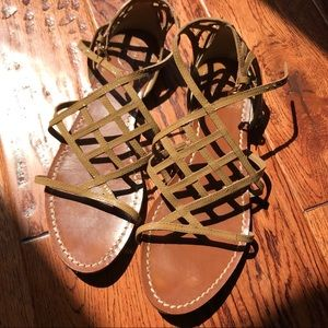 Tory Burch flat strappy sandals